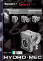 Square worm gearboxes metric catalogue