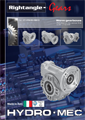 Rightangle worm gearboxes metric catalogue